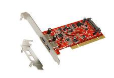 Exsys EX-1092 - PCI Karte USB 3.0 Super-Speed mit zwei Ports (Renesas Chip-Set)
