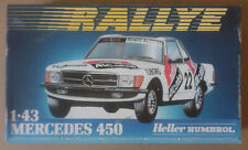 HELLER 1:43  **  MERCEDES 450. RALLYE SPA 1982  ** NEUF! FONDS DE STOCK!