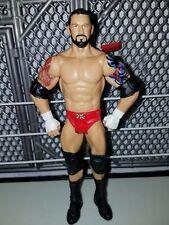 "WWE Mattel basic wrestling action figure Wade ""Bad News"" Barret! In red tights"