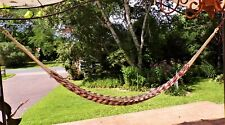 Reduced-Multicolored rope/string hammock
