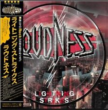 Loudness Picture Disc Lighting Strikes Japan LP Record Vinyl Limited Edition