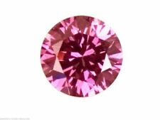 Pink Round Loose Sapphires