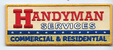 Handyman Services Commercial & Residential advertising patch 1-3/4 X 4-1/2 #450