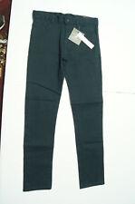 Beverly Hills Polo Club Girls School Uniform Dress Pants Sz 12 Navy Blue Skinny