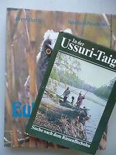 2 Bücher Ussuri-Taiga Sache nach Riesenfischuhu + Eulen der Welt