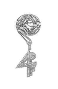 "Lil Baby 4PF Pendant & 18"" Cuban Chain Hip Hop Necklace"