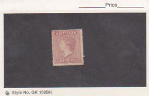 Antigua stamp Unused MNG Scott # 2 Queen Victoria 1863