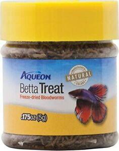 Aqueon Betta Bloodworm Treat, 0.175 oz