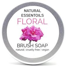 Floral Makeup Brush Soap. natural | cruelty free | vegan. Makeup Brush Cleaner