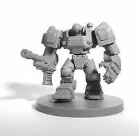 1x IMEF BULLDOG -CHRONOSCOPE BONES REAPER miniature rpg sci-fi power armor 49029