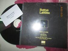 Bettye LaVette Down To Zero ANTI Records UK Promo CD Single