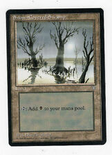 Snow-Covered Swamp - Ice Age - 1995 - Magic the Gathering