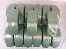 """Lot of 15 Downspout Style A  75* Elbows - 3"""" x 4"""" Evergreen"""