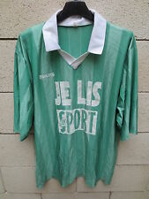 VINTAGE Maillot AMICALE LUCE Lucé COUPE de FRANCE porté n°5 match worn shirt 6x7