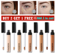 Phoera Full Coverage Concealer Foundation Makeup Matte Brighten Long Lasting NEW