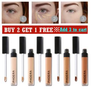 Phoera Full Coverage Concealer Foundation Makeup Matte Brighten Long Lasting NEW