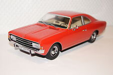 Opel Rekord C Coupe 1966 rot Resin 1:18 Minichamps neu + OVP 107047020