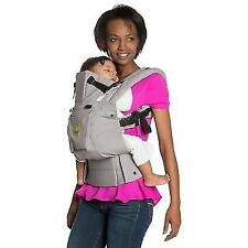 a170bc3374e Baby Carrier 6 in 1 Ergonomic Position Adjustable Comfortable Padded Straps  Gray