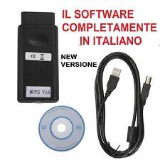 MPPS V16 Tuning EDC16 EDC 17 SID206  PROGRAMMATORE ECU ITALIANO + TITANIUM