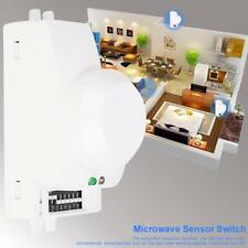 360° Microwave Radar Sensor Switch Module Human Automatic Induction Detector