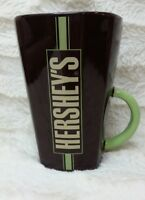 Hershey Kiss tall Mug Cup Good Night Kisses Cocoa  Brown/Mint Green