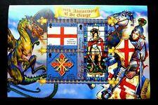*FREE SHIP Gibraltar  1700th Anniversary 2003 Dragon (ms) MNH