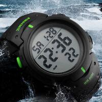 SKMEI Mens LED Digital Army Military Stopwatch Waterproof Date Sport Wrist Watch
