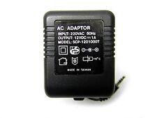 1 Pc - Ces European Ac-Dc Adapter 12Vdc-1Amp 3.5mm Mini Dc Plug # Zscp-1201000T