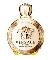 Versace Eros Pour Femme Women 3.4 oz 100 ml Eau de Parfum Spray Tst Bottle Cap