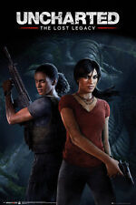 UNCHARTED THE LOST LEGACY Poster - GAME COVER  - NEW GAMING poster FP4519
