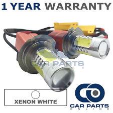 2X CANBUS WHITE H7 CREE LED MAIN BEAM BULBS FOR AUDI A2 A3 A4 A5 A6 A8 Q3 Q5 TT