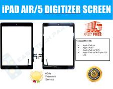 Schwarz IPAD Luft Touch Screen Digitizer & Home Taste Montage - OEM Qualität UK