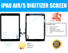Black iPad Air Touch Screen Digitizer & Home Button Assembly - Genuine OEM UK