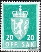 Norwegen D71y a postfrisch 1969 Dienstmarken