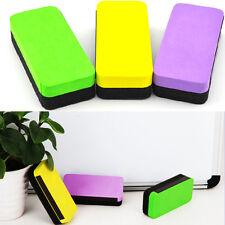 Magnetic Board Rubber Whiteboard Blackboard Cleaner Dry Marker Eraser Office MAU