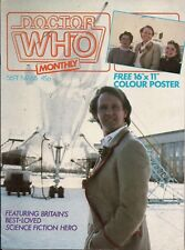 Doctor Who Magazine No.68 DOCTOR, TEGAN,NYSSA POSTER,POWER OF THE DALEKS