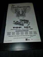 The Four Horsemen Nobody Said It Was Easy Rare Radio Promo Poster Ad Framed! #9