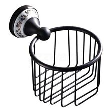 Bathroom Accessories Oil Rubbed Bronze Toilet Paper Holder Paper Roll Rack ZD752
