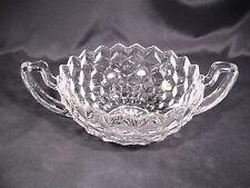 Fostoria American Handled Trophy Bowl