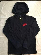Boys Nike Zip Hoodie Jacket Navy Blue Size X-Large NEW