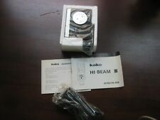 Kako Hi-Beam III rechargeable electronic flash unit for camera Made in Japan