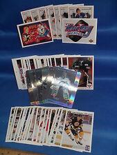 1991-92 UPPER DECK HOCKEY - McDONALDS + (2) CHASE SETS (58) NHL CARDS ! GRETZKY