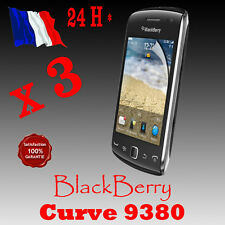 3x  FILM PROTECTEUR PROTECTION ECRAN  BLACKBERRY CURVE 9380  QUALITE SUP