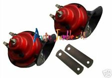 Car Boat horns dual tone alarm twin 12v kit snail two air LOUD UPGRADE
