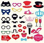 DIY Photo Booth Props Mask Mustache Stick Wedding Birthday Party Decorations