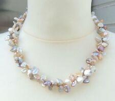 Collane e pendagli di lusso collier naturale in argento sterling