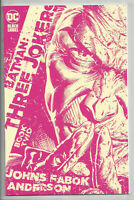 BATMAN THREE JOKERS #2 (1:25) FABOK COLOR VARIANT + PROMO Joker DC 2020 NM- NM