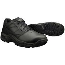 Magnum Viper bajo Antideslizante Negro Cuero Trabajo Zapatos/Botas - 5230