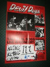 The Devil Dogs / Live In Concert LP & CD Promo Poster, Konzertplakat  60 x 42 cm