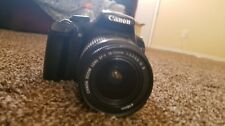 Canon EOS Rebel T3 / EOS 1100D 12.2MP Digital SLR Camera - Black (w/18-55mm lens